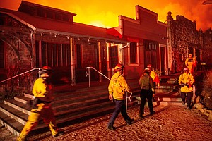 Wind-Fueled Wildfires Push California Governor To Declare...