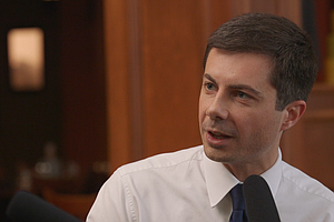 Pete Buttigieg Says Donald Trump Is 'Least Qualified Of A...