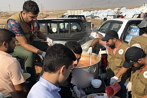 Syrian Kurdish Refugees Say Kurdish Forces Tried To Preve...