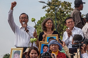 Cambodian Opposition Leaders Say Their Efforts To Return ...
