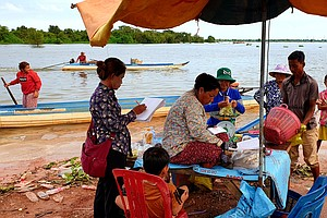 The Lake That Feeds The Mekong Basin Is Facing A Shortage...