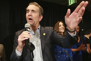 As Democrats Prepare To Take Power In Virginia, Gov. Northam Focuses On Gun C...