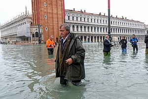 'Venice Is On Its Knees': Mayor Blames Worst Flood Tide In 50 Years On Climat...
