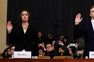 READ: Fiona Hill, David Holmes Opening Statements For Thu...