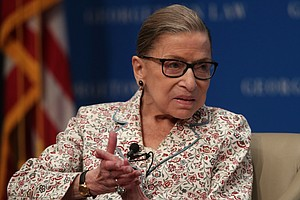 Justice Ruth Bader Ginsburg Released From Hospital Follow...