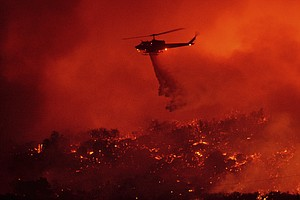 Santa Barbara County Fire Burns 4,300 Acres, Threatens Th...