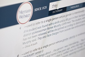 Merriam-Webster Singles Out Nonbinary 'They' For Word Of The Year Honors