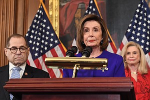 House Democrats Unveil 2 Articles Of Impeachment Against ...
