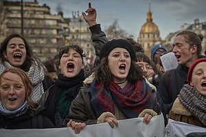 French Prime Minister Unveils Pension Plan As Strike Cont...