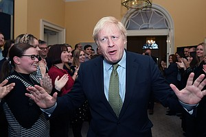 Boris Johnson And Conservative Party Win Large Majority I...