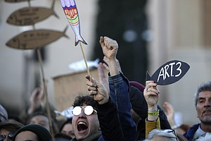 Fed Up With Far Right, Italy's 'Sardines' Protests Call F...