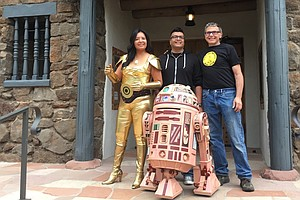 'The Force Is With Our People' Connects Indigenous Culture To A Galaxy Far Away