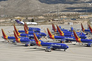 Southwest Airlines Nixes Boeing 737 Max Planes From Its Fleet Until April