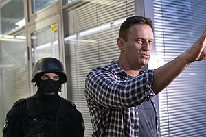 Russian Opposition Leader Alexei Navalny Targeted In Police Raid