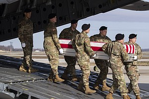 Gold Star Families Sue Defense Contractors, Alleging They Funded The Taliban