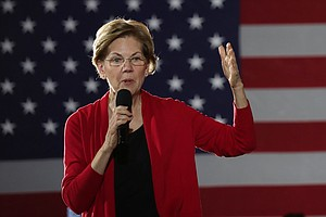 Warren Fundraising Drops, Lagging Behind Other Top Candid...