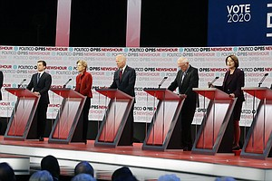 Democratic Debate Grows To 6 Candidates As Steyer Hits Ja...