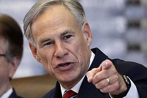 Gov. Greg Abbott Says New Refugees Won't Be Allowed To Settle In Texas