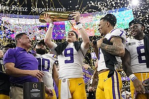 LSU Trounces Clemson 42-25, Taking Its First National Championship Since 2007