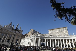 In Rare Move, Pope Francis Appoints A Woman To A Senior Vatican Position