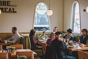 Meals On Wheels Serves Up Breakfast, Lunch And Community At Local Diner