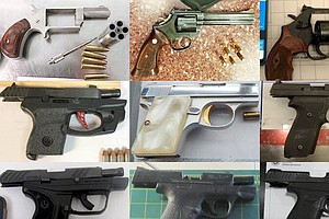 TSA Says It Seized A Record Number Of Firearms At U.S. Ai...