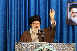 Iran's Ayatollah Slams 'American Clowns' In Rare Friday Prayers Sermon