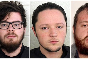 3 Alleged Members Of Hate Group 'The Base' Arrested In Georgia, Another In Wi...