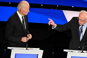 Biden And Sanders Amp Up Criticism As Polls Show Them Sep...