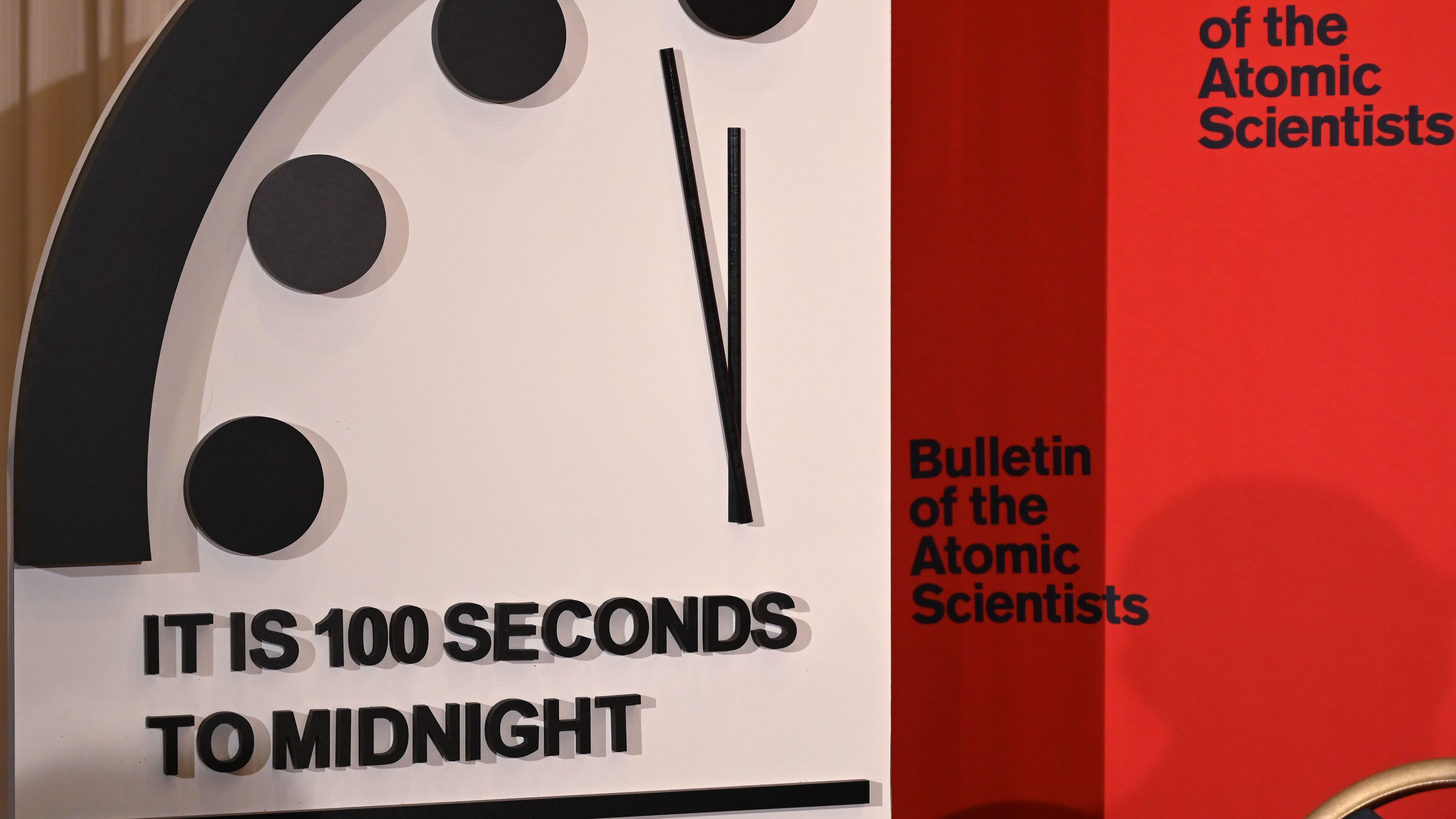 The End May Be Nearer Doomsday Clock Moves Within 100 Seconds Of