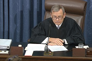 Chief Justice Roberts Navigates Shoals Of The Impeachment Trial