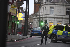 3 Injured In 'Terrorist-Related' Stabbing In London; Suspect Killed By Police