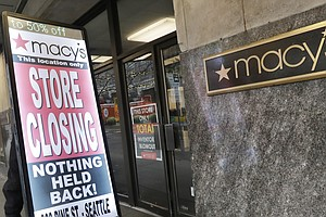 Macy's Closing 125 Stores, Cutting 2,000 Jobs As Mall Sto...