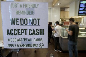 Cities And States Are Saying No To Cashless Shops