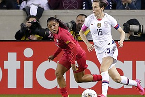 U.S. Women's Soccer Team On The Cusp Of Olympic Berth. Mexico Stands In The Way