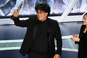 At The Oscars, 'Parasite' Makes Best Picture History