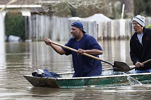 Hundreds Of Homes Flooded In Mississippi As More Rain Is Expected
