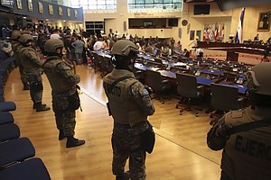 Latin America's Militaries Emerge As Power Brokers, Riot Police And Border Fo...