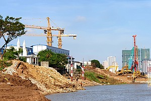'Houses On The River Will Fall': Cambodia's Sand Mining Threatens Vital Mekong