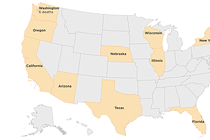 Which U.S. States Have Confirmed Coronavirus Cases?