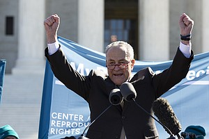 Supreme Court Weighs Abortion Case; Schumer Remarks Draw Rebuke From Roberts