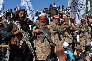U.S. Launches 'Defensive Strike' At Taliban As Fragile Afghan Peace Deal Teeters
