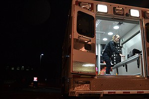 First Responders Are 'Trying To Stay Ahead' Of Coronavirus