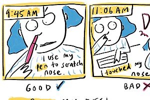 COMIC: I Spent A Day In Coronavirus Awareness Mode. Epidemiologists, How Did ...