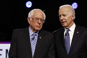 Biden And Sanders Debate Sunday In D.C. Here's What You Need To Know