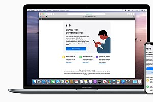 Apple's New Tool Lets You Screen Yourself For COVID-19
