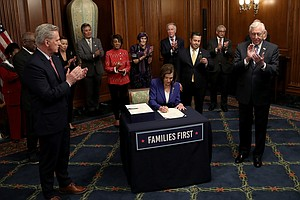 House Looks At 4th Coronavirus Aid Package; Pelosi Says She Won't Get Test