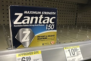 FDA Says Zantac Should Be Pulled From Market, Citing Cancer Risk