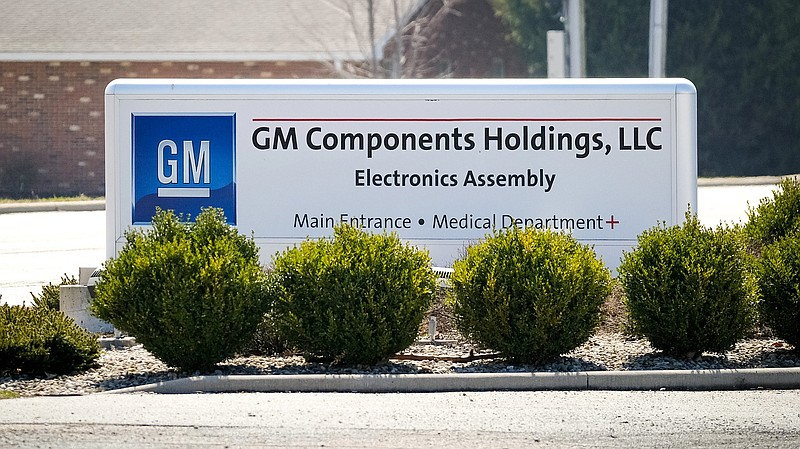 GM manufacturing facility in Kokomo, Indiana, in this undated photo.