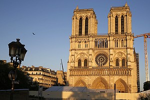 On Fire Anniversary, Notre Dame Bell Rings But Pandemic Has Stopped Restorati...